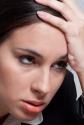 Frustrated female associate